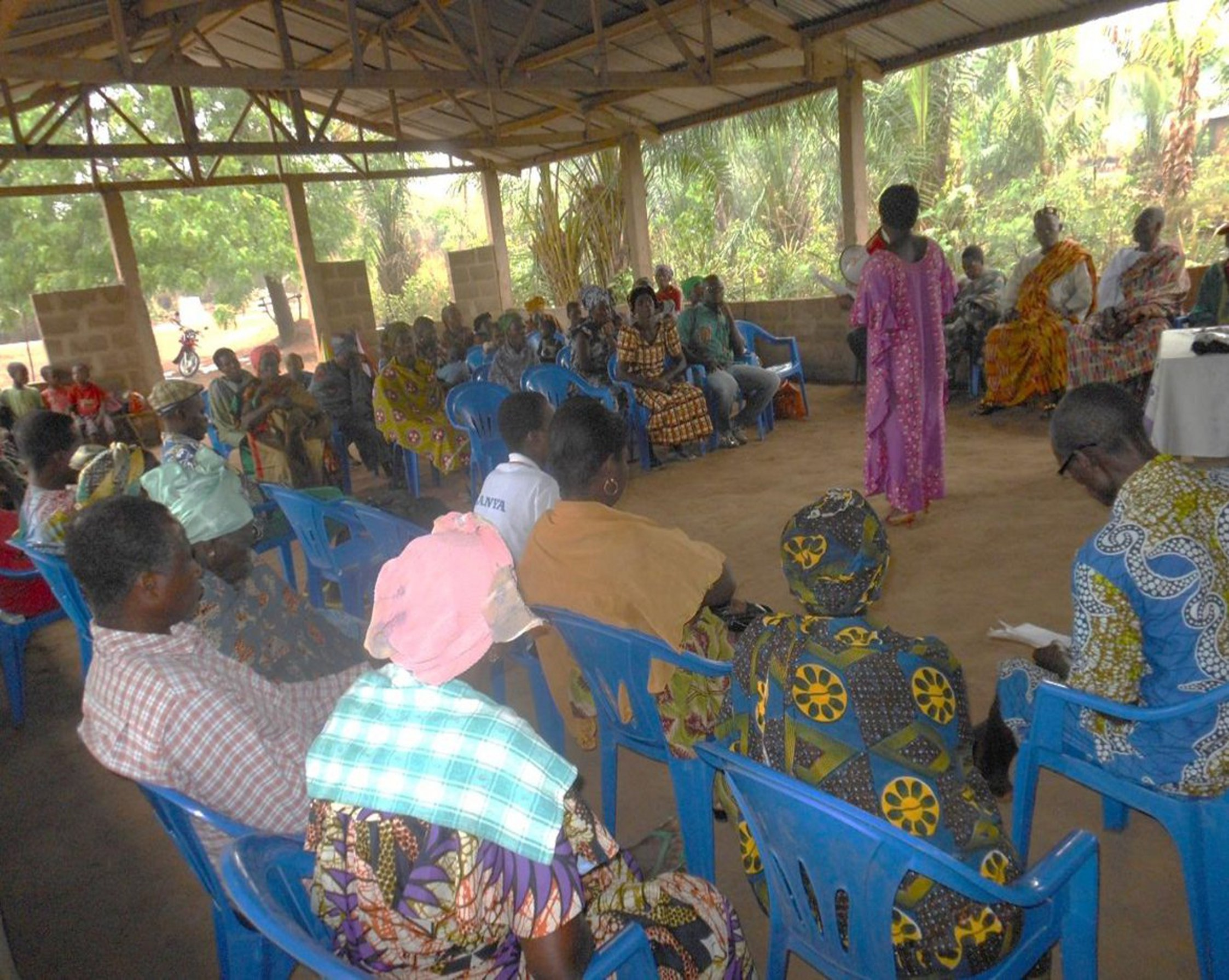 Ordinary General Assembly of the MAWUSSI cooperative of Howuivé (prefecture of the Avé) (Welcoming remarks of the president)