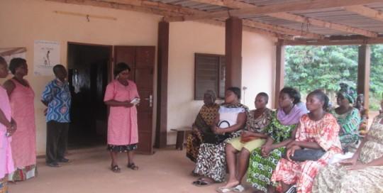 Sensibilisation dans le cadre de la lutte contre le paludisme
